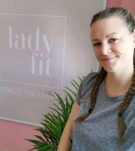 Sabine und LadyFit Logo